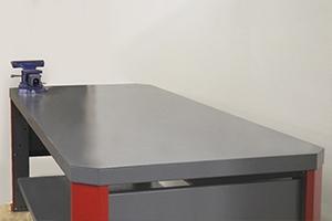 Фото металлической столешницы верстака