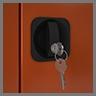 Ригельная система запирания дверей шкафов kronvuz