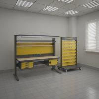 Комплект мебели KronVuz Pro-SF-1