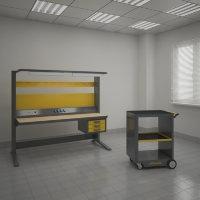 Комплект мебели KronVuz Pro-SF-6