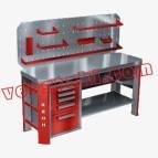 Слесарный верстак для мастерской Гефест-ВС-500